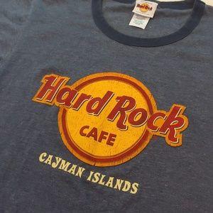 Hard Rock Cafe Shirts - Hard Rock Cafe Cayman Islands tee
